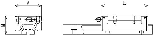 SSR-XW直线导轨滑块